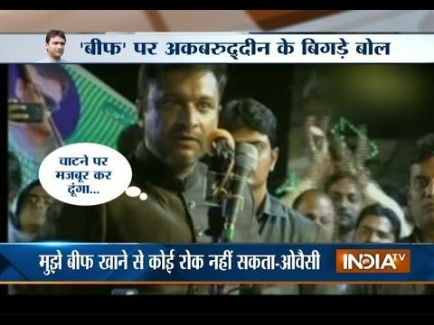 Akbaruddin Owaisi Goes Harsh at PM Modi, Indira Gandhi; BJP Expresses Discontent