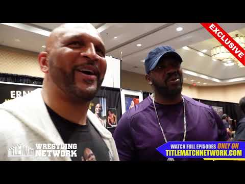 "Ernest ""The Cat"" Miller - April 2018 Interview with Stevie Ray - Wrestlecon New Orleans"