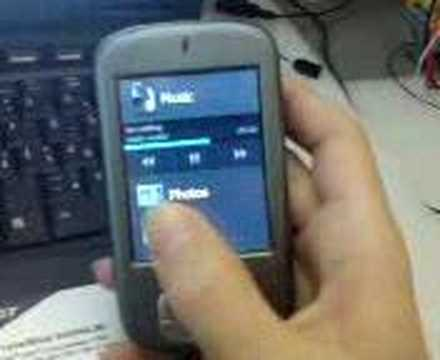 HTC Charmer (MDA Compact II) WM 6 prof. + media cube