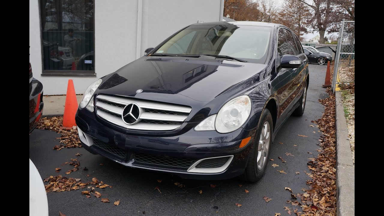 2007 mercedes benz r class r350 4matic cherry hill nj for 2007 mercedes benz r class r350
