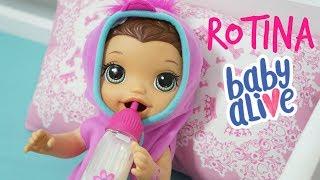 BABY ALIVE JUJU MOSTRANDO SUA ROTINA DA MANHÃ MINHA BONECA PAROU DE USAR FRALDA BABY DOLL KIDS