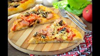 Самая мягкая домашняя пицца Ну ОООчень Вкусный Рецепт Всегда так готовлю и Вам советую