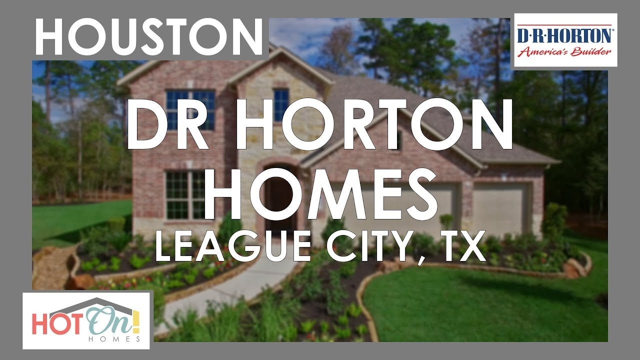 dr horton u0026 emerald homes at fosters ridge in conroe tx youtube