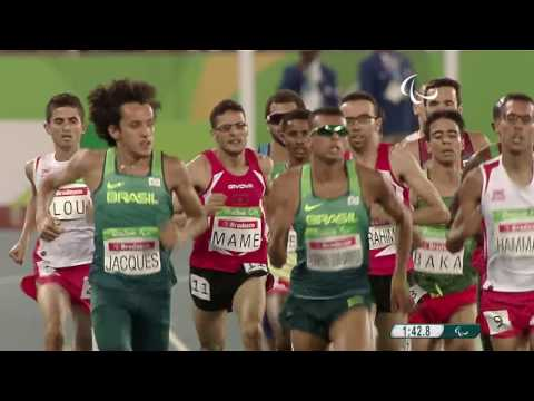 Athletics | Men's 1500m - T13 Final | Rio 2016 Paralympic Games