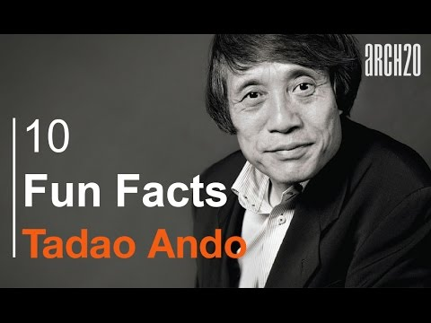 10 Funny Facts about Tadao Ando