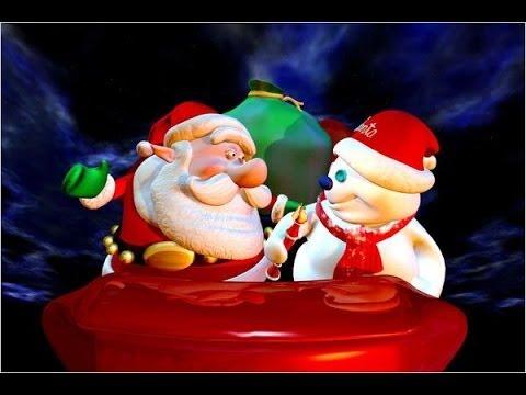Le Père Noël Et Le Bonhomme De Neige Youtube