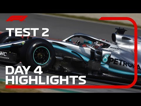 Test 2, Day 4 Highlights | F1 Testing 2019