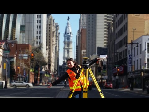 Broad Street, Philadelphia, PA - Intersection Surveys and 3D Scanning