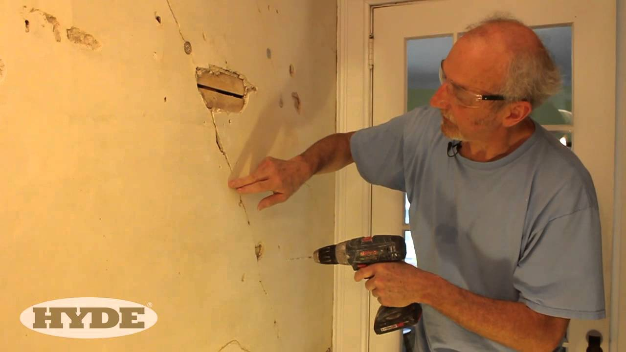 Fix Cracks in Plaster Like a Pro - YouTube