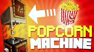 Video ✔️MINECRAFT PE - POPCORN MACHINE! [REDSTONE] // Working POPCORN maker! [MCPE] download MP3, 3GP, MP4, WEBM, AVI, FLV Desember 2017