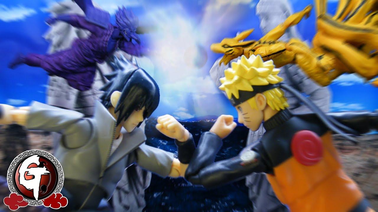 Naruto vs Sasuke Final Battle stop motionうずまきナルト VS うちはサスケ 火影忍者-鳴人vs佐助最後一戰