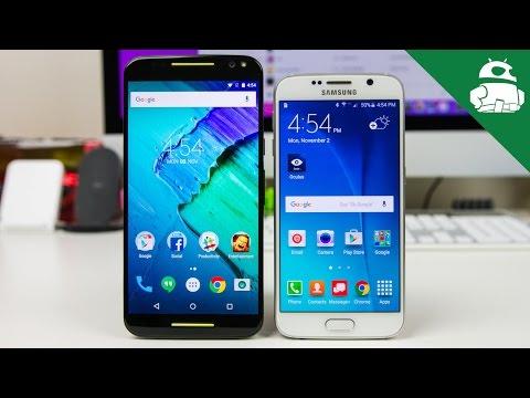 Moto X Style (Pure Edition) VS Samsung Galaxy S6