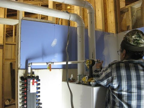 House Building Part 15: Plumbing, Boiler, Propane, In-floor Heating