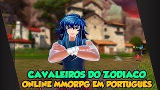 MMORPG DOS CAVALEIROS DO ZODIACO ONLINE TOTALMENTE EM PORTUGUÊS!