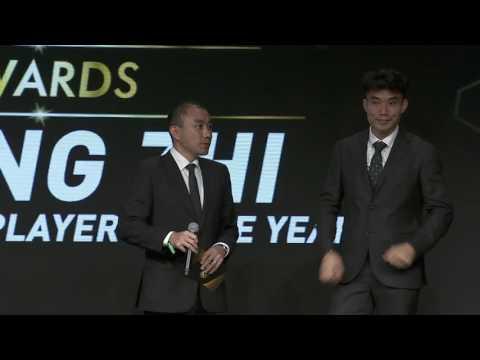 Zheng Zhi - Best Chinese Player of the Year 2016