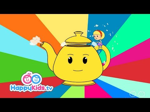 I Am A Little Teapot  | Nursery Rhymes For Kids | Baby Songs | Happy Kids | Pattie and Pixie Show