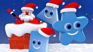 Kształty dla dzieci ze Świętym Mikołajem | CzyWieszJak
