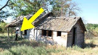 Polizist hörte schreckliche Geräusche aus einem verlassenem Haus, was er sah war herzzerreißend!