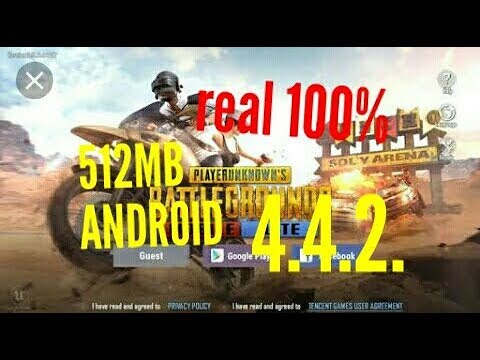 Pubg Mobile Lite 100% Works In Android 4.4.2 How To Download Watch Till End