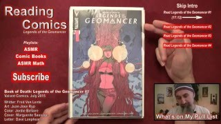 Reading Comics: Book of Death: Legends of the Geomancer #1, Valiant, 2015 [ASMR, Male, Soft Spoken]