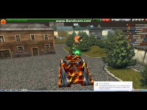 Tanki Online HichigoShiro (Makarov.Dreyar) & Coolcody: Mammoth M3 Twins M3 Inferno