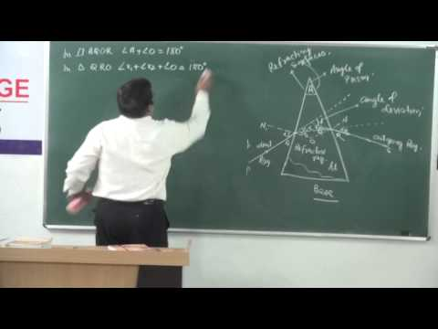 XII-7.9.Prism Refraction (2014) Pradeep Kshetrapal Physics