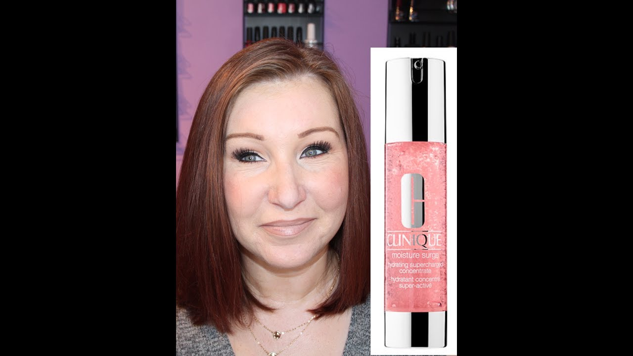 Clinique Moisture Surge Hydrating Water Gel Concentrate Review Youtube