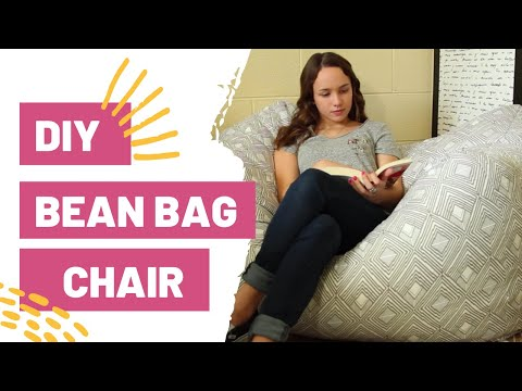 DIY BEAN BAG CHAIR | How To Sew