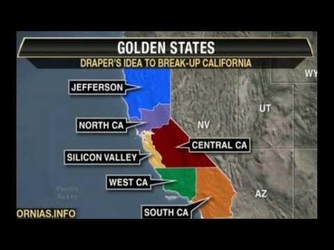 BREAK UP: Will California Splinter into 6 States?