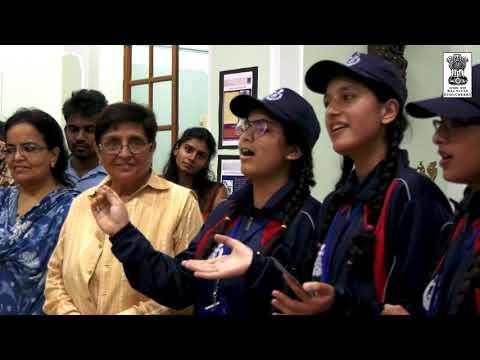Students from Jammu & Kashmir and Pune visit Raj Nivas