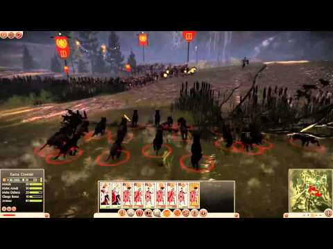Total War: Rome II (Battle of Teutoburg Forest Gameplay)