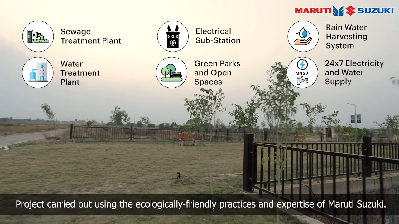 Maruti Suzuki Enclave - Affordable, world-class and eco-friendly homes for employees