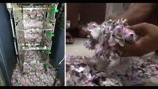 ネズミのやることだから…ATMに侵入したネズミが紙幣200万円分で巣作り