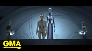 Dave Filoni celebrates 'Star Wars Day' with new spin-off series l GMA