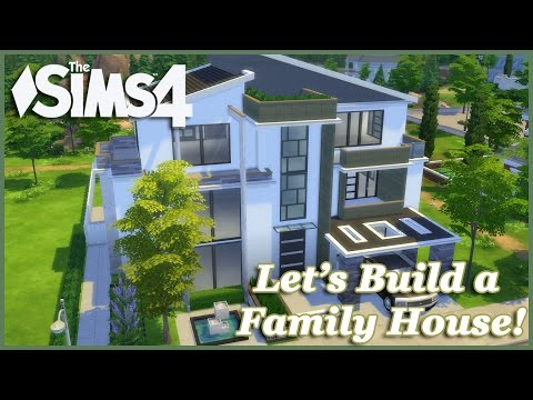 The Sims 4 - Let's build a Family House (Part 2) Realtime