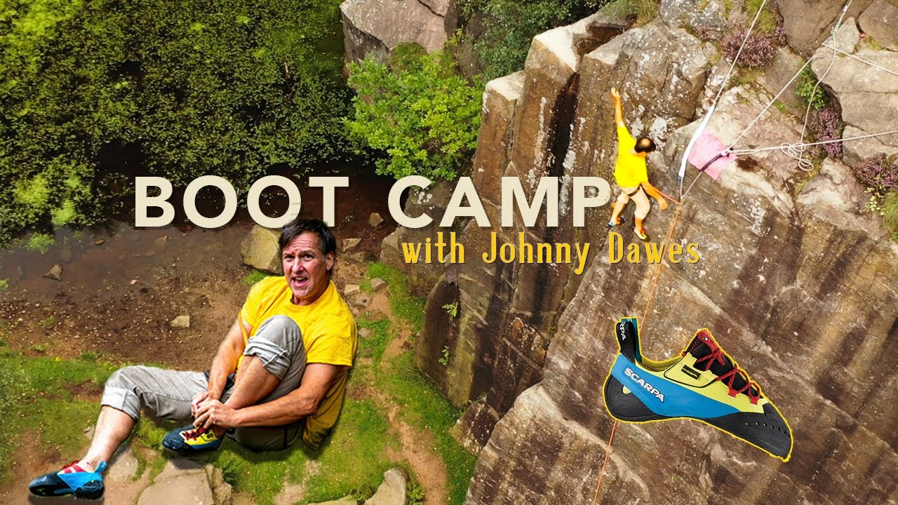 NO-HANDS Climbing With The Scarpa Chimera | Johnny Dawes' Boot Camp
