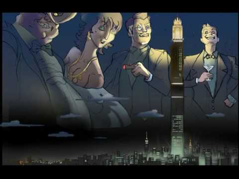 """NEW YORK NEW YORK BY GRANDMASTER FLASH AND THE FURIOUS FIVE ANIMATIC-""""BIG CITY OF DREAMS"""""""