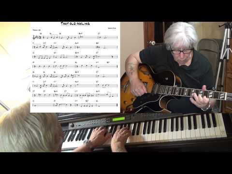 That Old Feeling - Jazz guitar & piano cover ( Sammy Fain ) Yvan Jacques