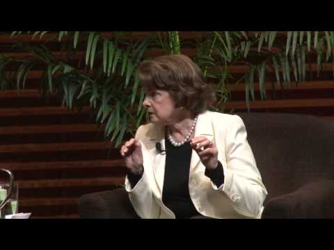 Security Conundrum: An Evening with Senator Dianne Feinstein
