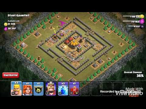 Clash of Clans-glitch/bug(Halloween 2016)Train full army in just 1 Gem