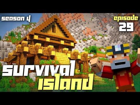 Minecraft: Survival Island - Season 4 (Episode 29 - Icy Transport)