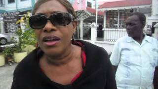 Street brawl Guyana style: Freddie Kissoon vs PPP Jennifer Westford
