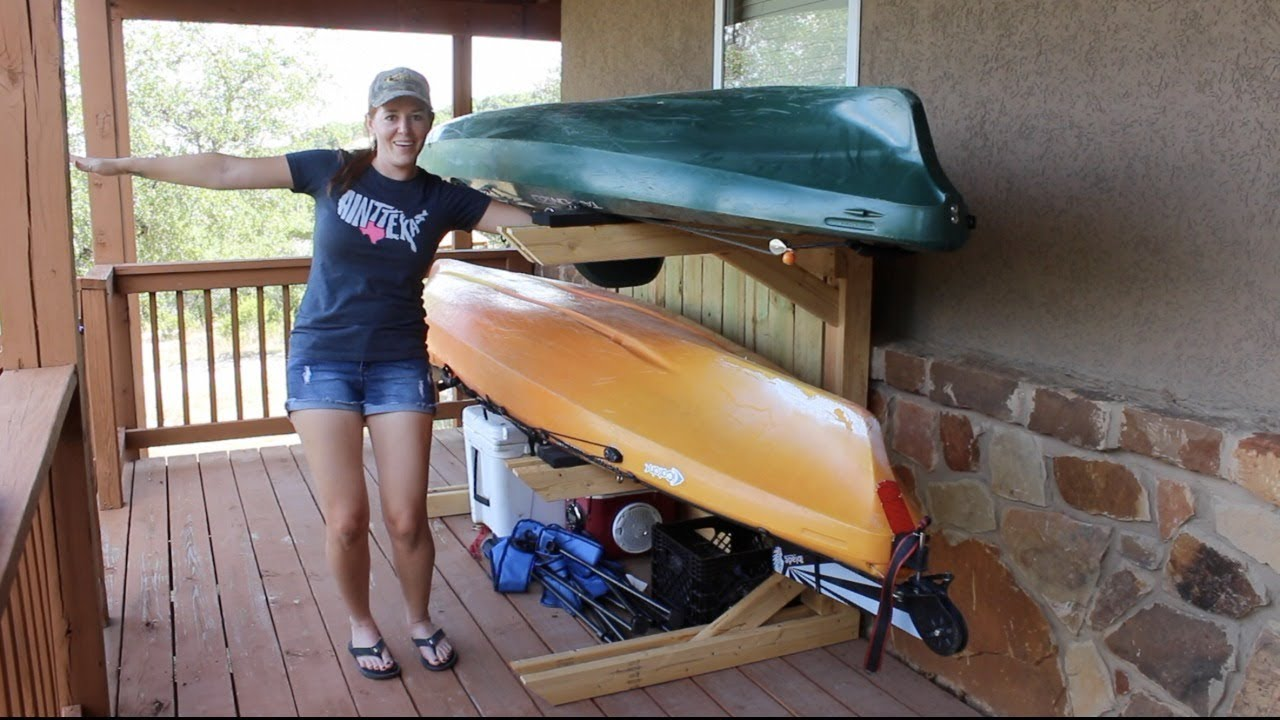 how to lock a kayak keep safe