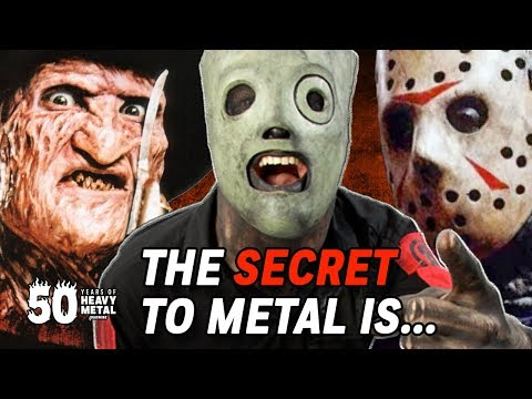The Secret to Metal Is... HORROR