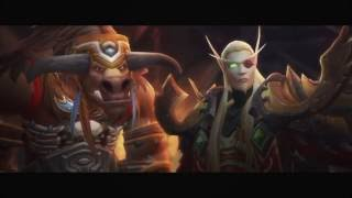 World of Warcraft: Legion - Horde storming the Legion cutscene - 1080p