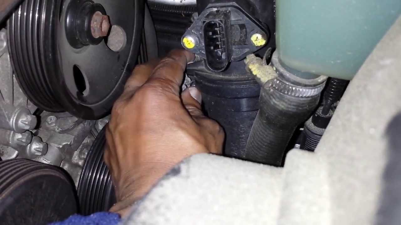 maxresdefault mercedes diagnose & replace mass air flow sensor youtube  at eliteediting.co