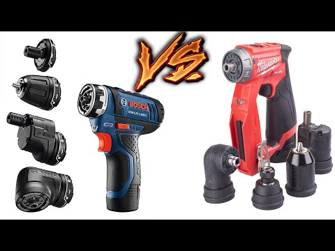 Milwaukee VS Bosch - BEST 5 IN 1 INSTALLATION DRILL/DRIVER (Tool Tests Raw)