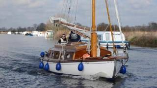 Sailing with Eastwood Whelpton on the Norfolk Broads