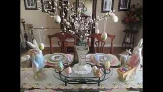 Easter Spring Decor Home Tour 2015