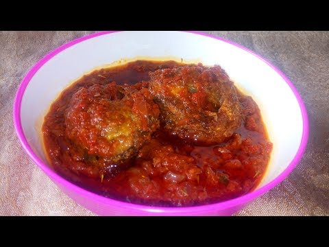 Stew Recipe: How To Make Tomato Fish Stew